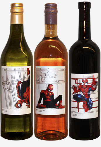 Vins Superman, Batman & Co… mics !